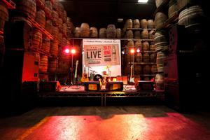 The stage is set for 'Bushmills Live'