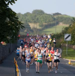 Approximately 300 runners took part in the Portaferry 10 mile race last year
