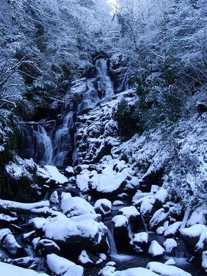 <b>Belfast Telegraph readers' pics of winter weather: </b>Icy Waterfall on January 11. By  Katie S., Killarney National Park