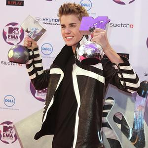 Justin Bieber won two awards - Best Male and Best Pop
