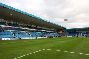 Football fans have been banned from attending a match between League Two clubs Gillingham FC and Swindon Town amid a row over policing costs