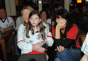 Ulster fans  pictured at The Taphouse  bar in Belfast