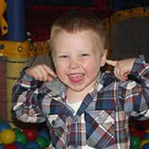 Bailey Allen, four, who died in a fatal house fire in North Wales