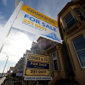 House prices remained unchanged during April, research indicated