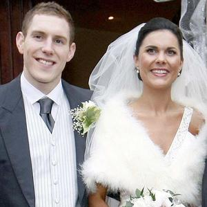 Murdered Michaela McAreavey and her husband John on their wedding day (Irish News/PA)