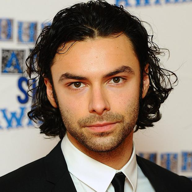 Aidan Turner is in boot camp for The Hobbit