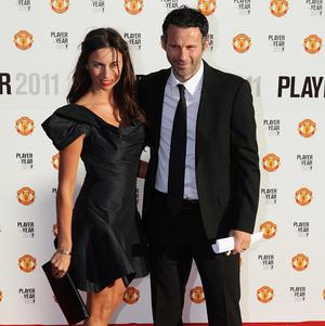 Ryan Giggs with his wife Stacey in May