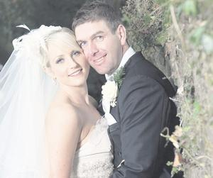 "Lynsey and Thomas Hughes enjoyed a relaxed wedding cermony in Cashel, Co Tipperary <p><b>To send us your Wedding Pics <a  href=""http://www.belfasttelegraph.co.uk/usersubmission/the-belfast-telegraph-wants-to-hear-from-you-13927437.html"" title=""Click here to send your pics to Belfast Telegraph"">Click here</a> </a></p></b>"