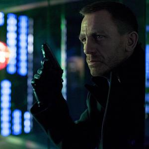 Daniel Craig as James Bond in a scene from Skyfall set in Shanghai (Sony Pictures/PA)