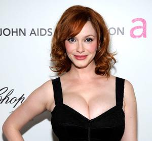 Actress Christina Hendricks