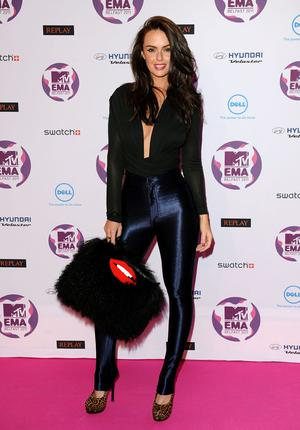 BELFAST, NORTHERN IRELAND - NOVEMBER 06:  Actress Jennifer Metcalfe attends the MTV Europe Music Awards 2011 at the Odyssey Arena on November 6, 2011 in Belfast, Northern Ireland.  (Photo by Ian Gavan/Getty Images)