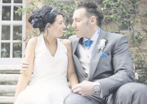 "Greatest Day: Gemma and Adam Graham  <p><b>To send us your Wedding Pics <a  href=""http://www.belfasttelegraph.co.uk/usersubmission/the-belfast-telegraph-wants-to-hear-from-you-13927437.html"" title=""Click here to send your pics to Belfast Telegraph"">Click here</a> </a></p></b>"