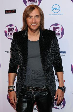 BELFAST, NORTHERN IRELAND - NOVEMBER 06:  DJ and music producer David Guetta attends the MTV Europe Music Awards 2011 at the Odyssey Arena on November 6, 2011 in Belfast, Northern Ireland.  (Photo by Ian Gavan/Getty Images)