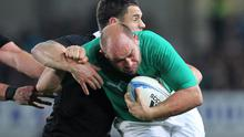 Rory Best was one of the few Irish players to gain any credit from their defeat by New Zealand