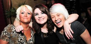 The Roost Bar -  Tracy McGoldrick, Bronagh Torrens and Heather Mearns