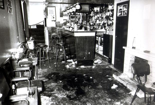 O'Tooles Bar (The Heights), in the quiet Co Down village of Loughinisland where UVF gunmen burst in opened fire, during a World Cup match on June 18, 1994.