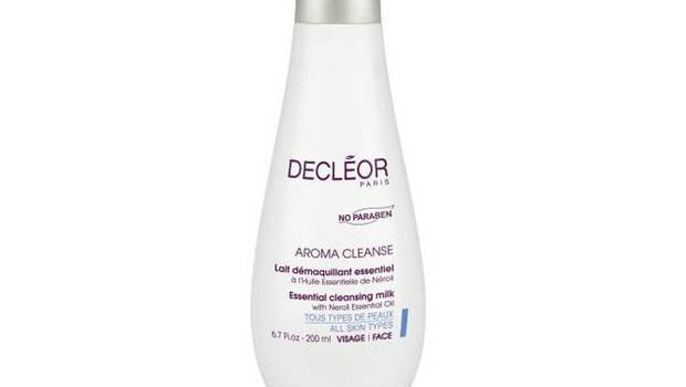 Aroma Cleanse Essential cleansing milk £20, decleor, decleor.co.uk Remove even stubborn waterproof eye make-up with this gentle sweet almond oil-based cleanser that won't sting or irritate sensitive eyes.