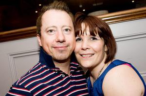 Horatio Todds pictured Gary and Janine Halliday