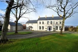 """<b>10. Bullybanks, 18 Ailsa Road, Holywood, County Down, BT18 0AS For Sale Asking Price £1,795,000</b> This substantial detached residence is set on a mature elevated site in the heart of Cultra with panoramic views over Belfast Lough and the Antrim Hills. <p><b>To view property <a href=""""http://www.propertynews.com/Property/Holywood/ECHECH26010/18-Ailsa-Road/194686923/Page2"""" title=""""Click here to view property"""">Click here</a> </a></p></b>"""