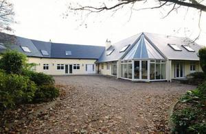 """<b>13.Sheelin,179, Belfast Road, Ballynahinch, Co Down, BT24 8UR For Sale Offers around £1,500,000</b>This magnificent modern country residence enjoys delightful environs with lake frontage and aprivate mature site extending to approximately 4 acres.A recently constructed wing enables the potential purchaser to really enjoy the superb views over the adjacent lake, the mature landscaped gardens and the surrounding countryside.  <p><b>To view property <a href=""""http://www.propertynews.com/Property/Ballynahinch/PNC334515/Belfast-Road/194686923/Page3"""" title=""""Click here to view property"""">Click here</a> </a></p></b>"""