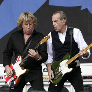 Rick Parfitt and Francis Rossi of Status Quo have been filming in Fiji