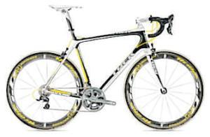 ROAD <b>Trek Madone Series 6</b><br/>  'Pretty much straight from the box the latest version was piloted to first and third places at last year's Tour de France by Alberto Contador and Lance Armstrong,' Tony says. <b>Where</b> www.trekbikes.com <b>How much</b> £5,800