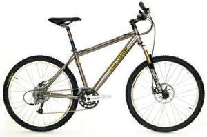 MOUNTAIN  <b>Rock Lobster Team Ti</b><br/> This hardtail 'offers a greatvalue spec and a sturdy titanium frame,' Jeff says. 'It's well behaved on the trail, giving both low-speed control and high-speed comfort.' <b>Where</b> www.merlincycles.co.uk  <b>How much</b> £1,650
