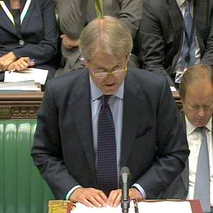 Northern Ireland Secretary Owen Paterson gives a statement on the publication of the inquiry into the death of Maze Prison of loyalist Billy Wright
