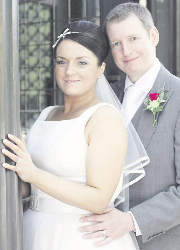 Wayne McAteer and Joanne Lynch at the Tullyglass House Hotel, Ballymena