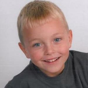 Six-year-old Owen Wightman was hit by a car near his home in Wakefield, West Yorkshire, on Saturday