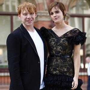 Emma Watson and Rupert Grint play Ron and Hermione