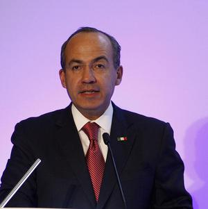 Mexican President Felipe Calderon launched a crackdown on drug traffickers in 2006