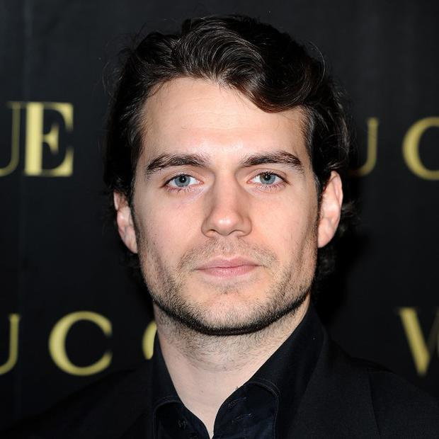 Henry Cavill donned a superhero costume for his Superman screen test