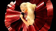 Lady Gaga performs onstage during the 2011 MTV Europe Music Awards at the Odyssey Arena, Belfast