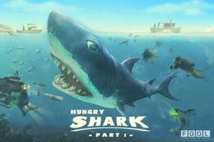 <b>HUNGRY SHARK £1.19</b><br/> A fast-paced aquatic game that's wet and wild.