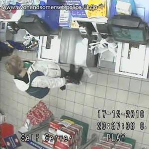 Avon and Somerset Police handout CCTV image of Joanna Yeates buying a pizza in a Tesco Express