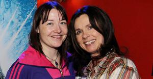 Hilary Campbell-Martin and Stephanie Alexander at Belfast's Christmas Continental Market
