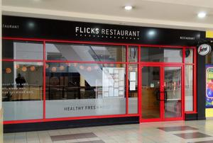 Flicks restaurant is now closed because of the outbreak of E coli
