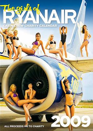 Never one for shying away from a publicity opportunity, Michael O'Leary asked his  flight attendants   to pose in a charity calendar to raise money  for the homeless.