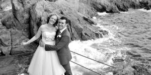 """The wedding in Italy of Ciara Burke and Mark Cromie <p><b>To send us your Wedding Pics <a  href=""""http://www.belfasttelegraph.co.uk/usersubmission/the-belfast-telegraph-wants-to-hear-from-you-13927437.html"""" title=""""Click here to send your pics to Belfast Telegraph"""">Click here</a> </a></p></b>"""