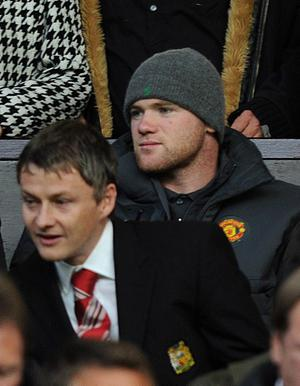 Wayne Rooney, watching from the stands on Saturday night, cannot expect Sir Alex Ferguson to splash the cash on new players in January