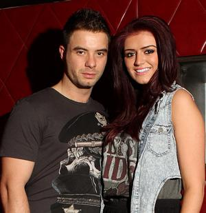 Ryan Hoey and Carly Bell - at the Terry Bradley bag launch in Ollies Belfast
