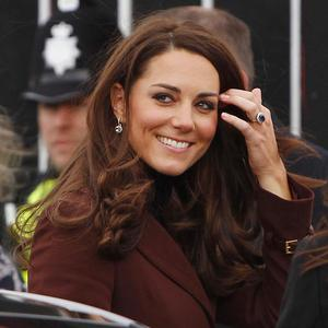 The Duchess of Cambridge arrives at the Brink in Liverpool