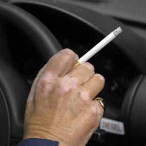 Research suggests the concentrations of pollutants in smokers' cars are three times higher than WHO indoor air quality standards