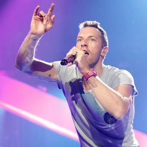 Chris Martin performing some of Coldplay's most anthemic hits to close Children In Need Rocks Manchester concert