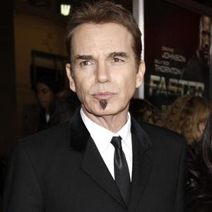 Billy Bob Thornton likes to drive his hot rod
