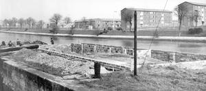 Methodist College Belfast- Site for Methody's new boat house, 1960.