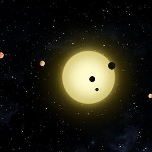 Nasa's Kepler space telescope has discovered a sun-like star around which six planets orbit