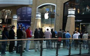 Ipad goes on sale at Apple Store in the Victoria Square, Belfast.