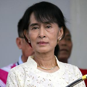 Burma's opposition leader Aung San Suu Kyi will take her seat in parliament for the first time on April 23 (AP)
